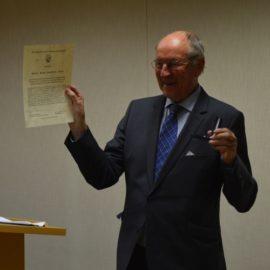 Bürgerpreis für Hans-Joachim Jürs (2015)